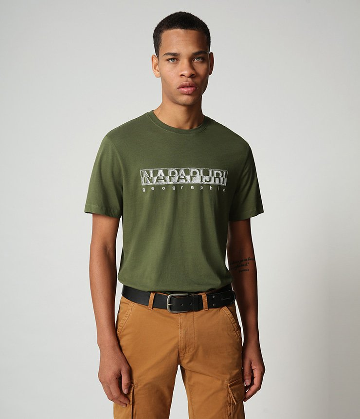 Napapijri shirt heren groen