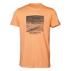 tim O-hals shirt print oranje