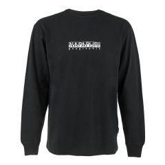 s-box O-hals logo II sweater zwart