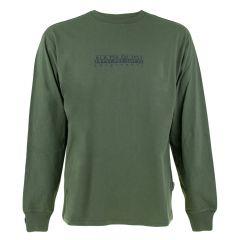 s-box O-hals logo II sweater groen