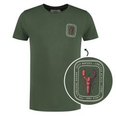 lobster beach O-hals shirt groen