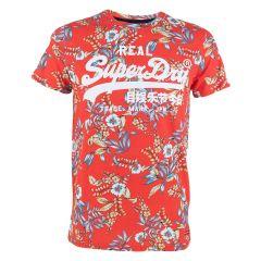 AOP vl O-hals shirt rood