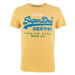 vl tri O-hals shirt geel