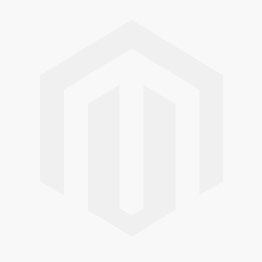all over logo print O-hals shirt blauw