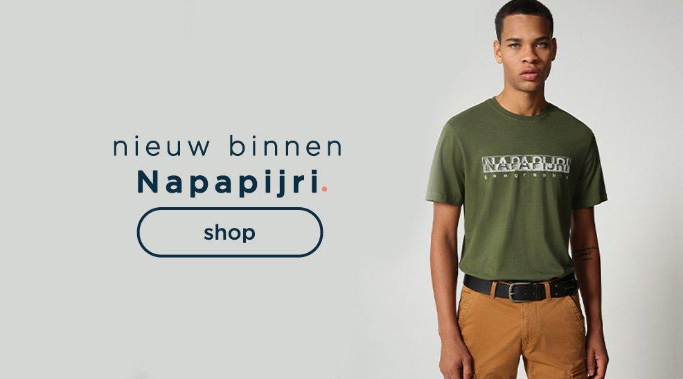 Napapijri - nieuw merk op shirts.nl